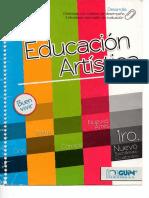 Libro educacion artística arte 3er bachillerato