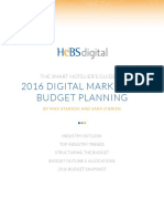 Smart Hoteliers Guide to 2016 Budgeting