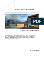 iiSBE Net Zero Built Enironment 2014 Proceedings