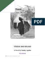 Verna Dan Hujan by Santhy Agatha