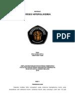 REFERAT-Hiperglikemia-Krisis