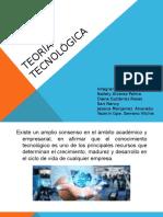 TEORÍA TECNOLÓGICA