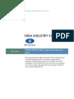 NIEM IEPD XML Code Generation in Java