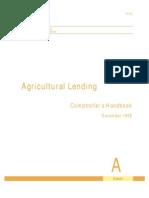 Occ Agri Lending