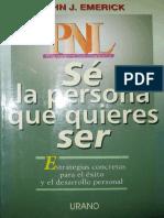 SÉ LA PERSONA QUE QUIERES SER (JOHN J. EMERICK).pdf