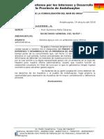 Oficio Frente de Defensa - A