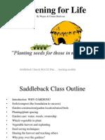 Gardening for Life Saddleback's Power Point Slide Show Small File