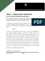 Actividad de Aprendizaje Unidad 2- Problemas Comunicativos.