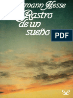 Hermann Hesse - Rastro de Un Sueño
