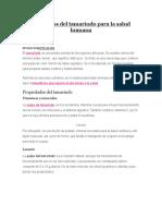 Beneficios Del Tamarindo Para La Salud Humana