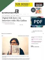 Transmediale Interview_ Olia Lialina