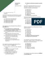 Cuestionario Antimicrobianos