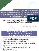 Evaluación Del Currículum y Del Centro