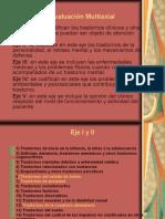 Evaluación Multiaxial DSM IV PPT