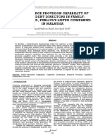 THE RESOURCE PROVISION CAPABILITY OF INDEPENDENT DIRECTORS IN FAMILY-CONTROLLED, PUBLICLY-LISTED COMPANIES IN MALAYSIA