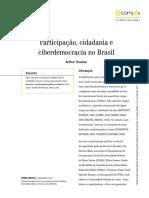 Participação, Cidadania e Ciberdemocracia No Brasil