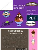 analysis of the ice cream industry