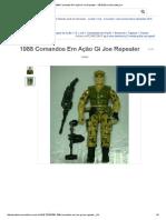 1988 Comandos Em Ação Gi Joe Repeater - R$ 55,00 no MercadoLivre