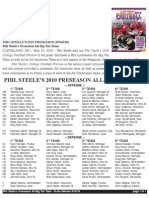 Phil Steele's Preseason AllBig Ten Team
