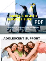 FAMILY & HEALTH SERVICES SUPPORT.ppt