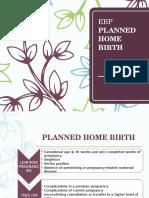 EBP PLANNED HOME BIRTH.pptx