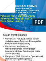 PPT  Bimtek Petunjuk Teknis Pelaksanaan Moda Daring.pptx