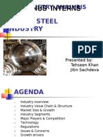 Steel Industry analysis by Tehseen Khan & Jitin