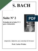 Bach - Suite No.2 Contrabajo (Ed.rabbath)