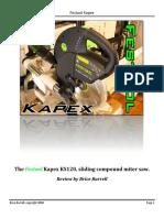 Kapex Review