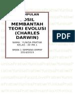 Kesimpulan Teori Darwin mengenai Makhluk Hidup.