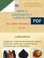 2.- Lubricantes y Lubricacion
