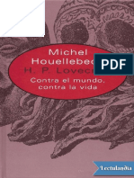 H P Lovecraft - Michel Houellebecq