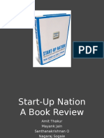 Book Review-Start Up Nation