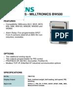 7MH7152 SIEMENS MILLTRONICS BW500 INTEGRATORS