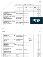 Price List for Switchyard equipment.xlsx