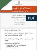 Anomalías Genéticas y Cromosómicas