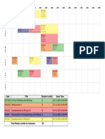 PDF Sem 1 Timetable