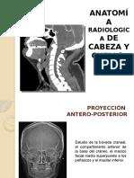 Anatomía Radiologica de Cabeza y Cuello