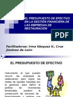 EL PRESUPUESTO DE EFECTIVO EN LA GESTIÓN FINANCIERA.ppt