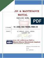 Derang Jitpl-o&m Manual_xrp1103-1 Mill
