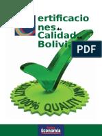Certificaciones de Calidad en Bolivia