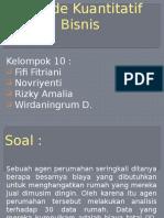 PPT Metode Kuantitatif Bisnis
