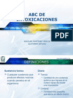 ABC de Intoxicaciones