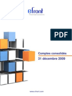 eFront SA - Form Preliminary Annual Report(Jan-15-2010)