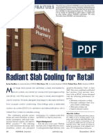 Radiant Slab Cooling for Retail