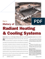 History of Radiant Heating & Cooling Systems, Part 1