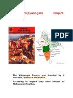 The Vijayanagara Empire