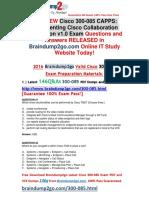[2016.07.NEW]Cisco 300-085 VCE 146Q&As Share[41-50]