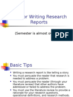 Strategies in Technical Writing