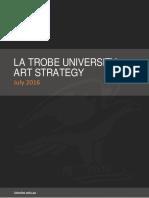 La Trobe University Art Strategy 2016